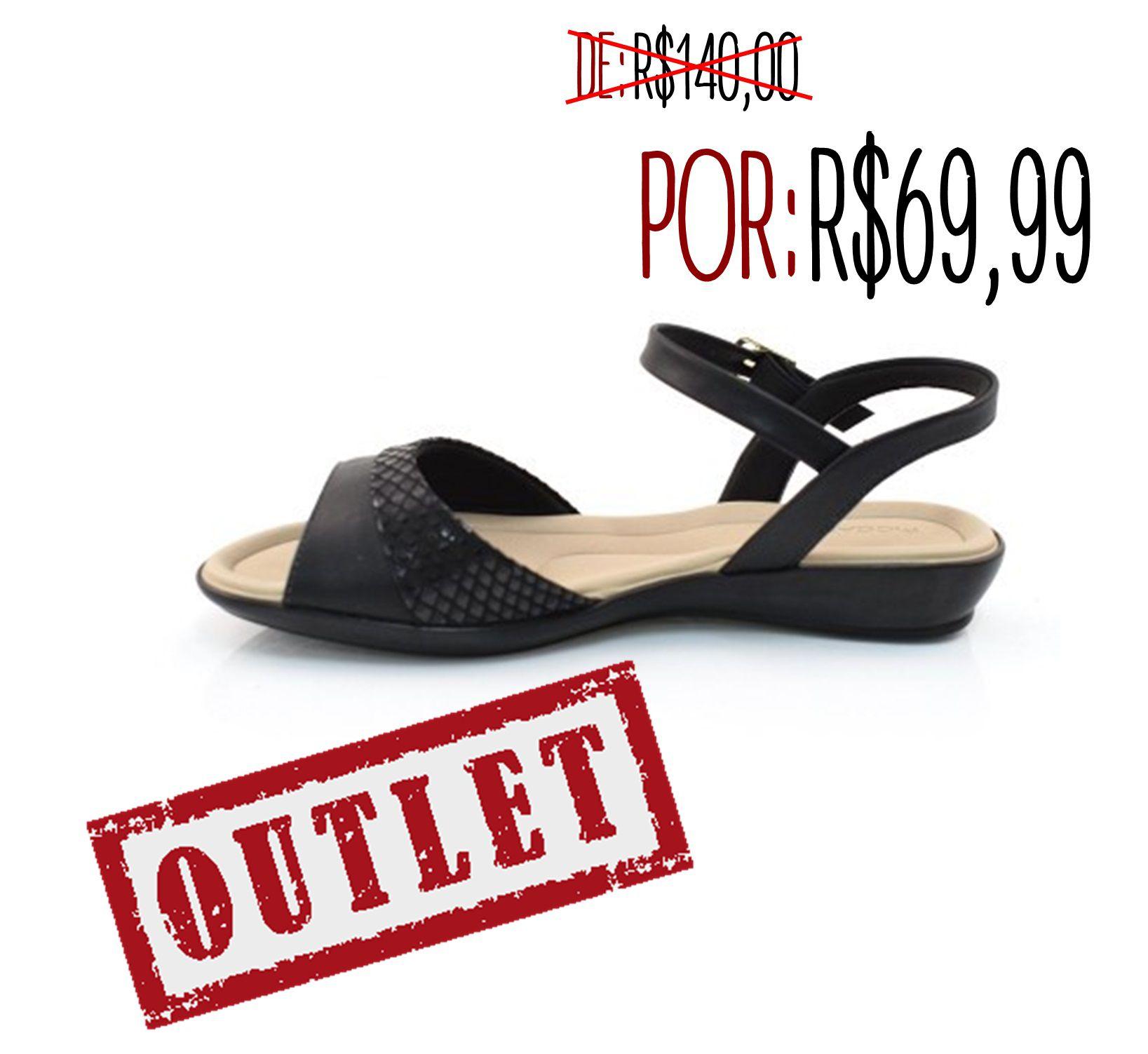 673650436 Sandália Anabela Baixa Piccadilly Confortável Sola Leve