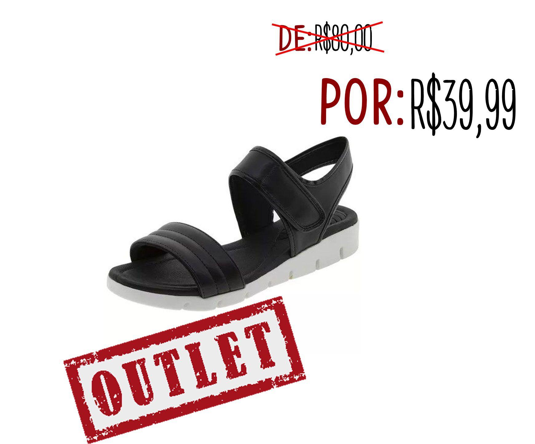 729fad67e Sandalia Azaleia Flexivel Salto Baixo Feminino Confortavel Leve