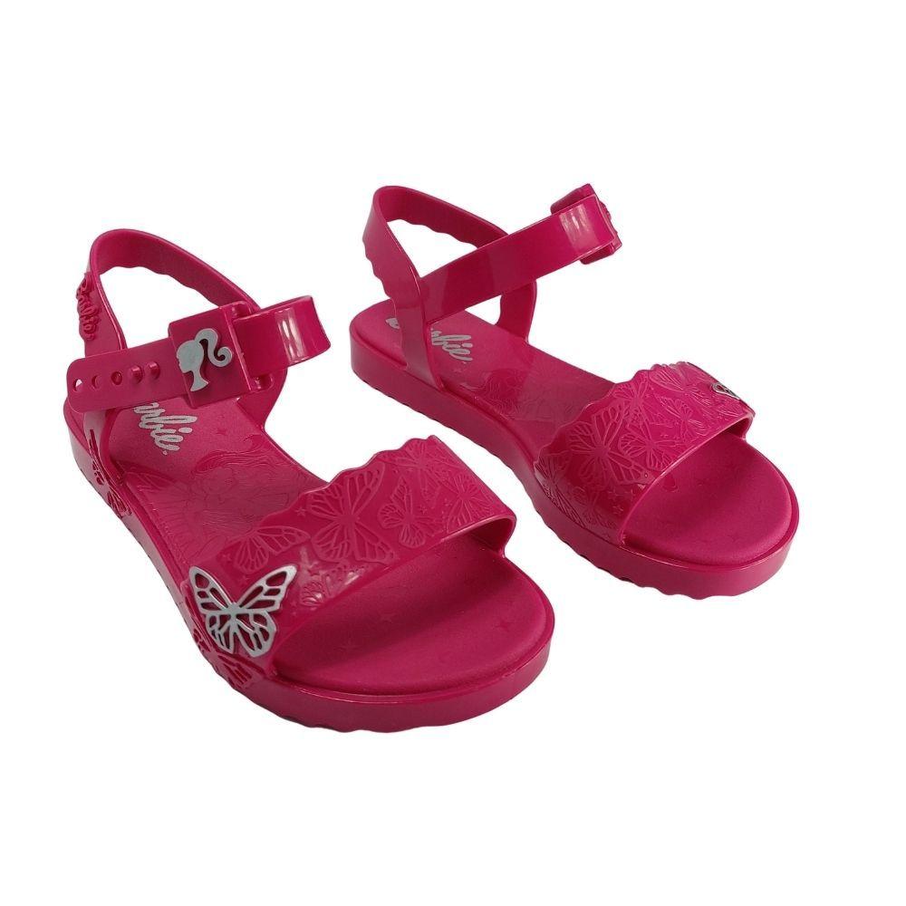 Sandalia Infantil Menina Barbie Butterfly Rosa Grendene