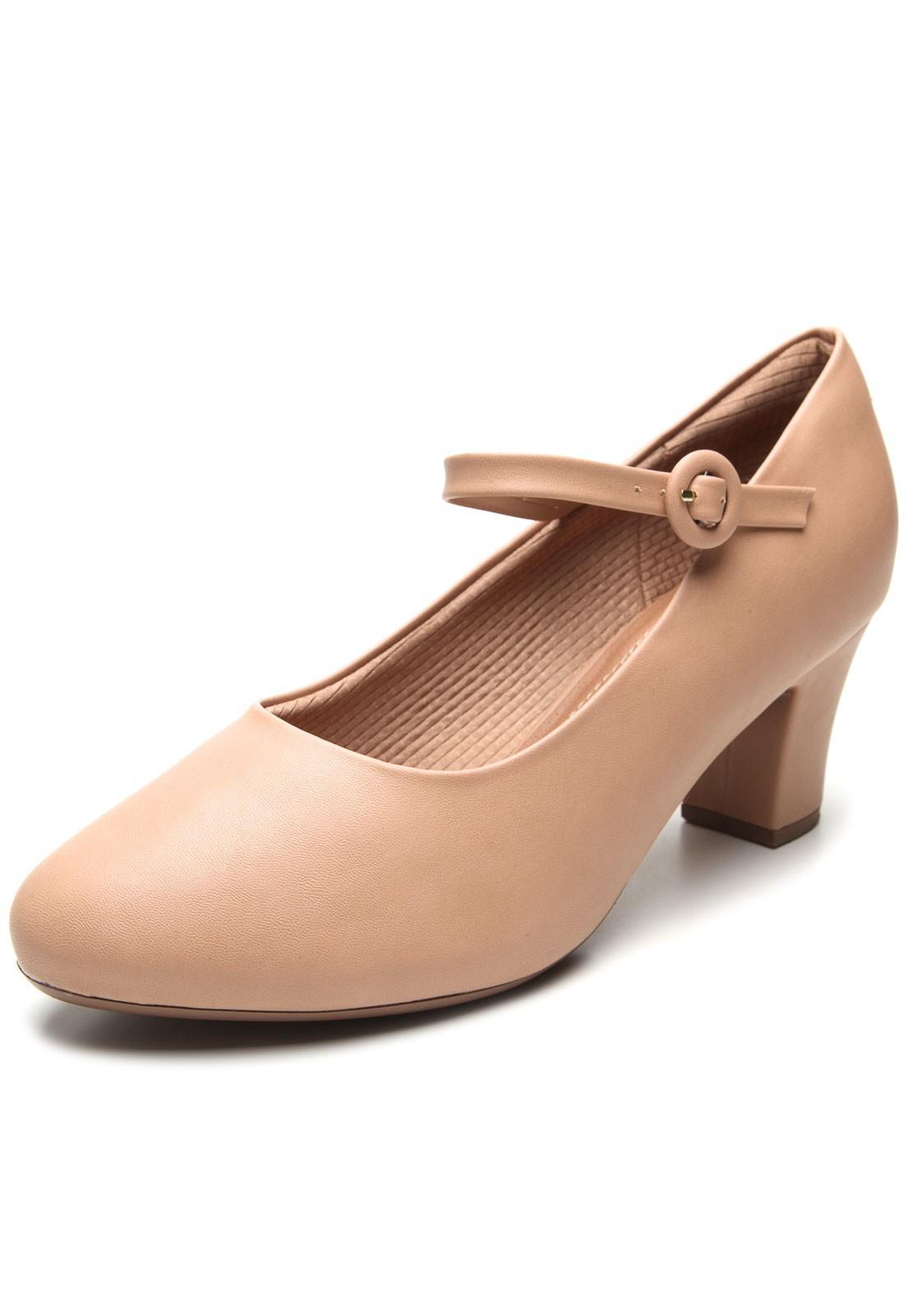 Sapato Boneca Feminino Piccadilly para Dançar Confortável