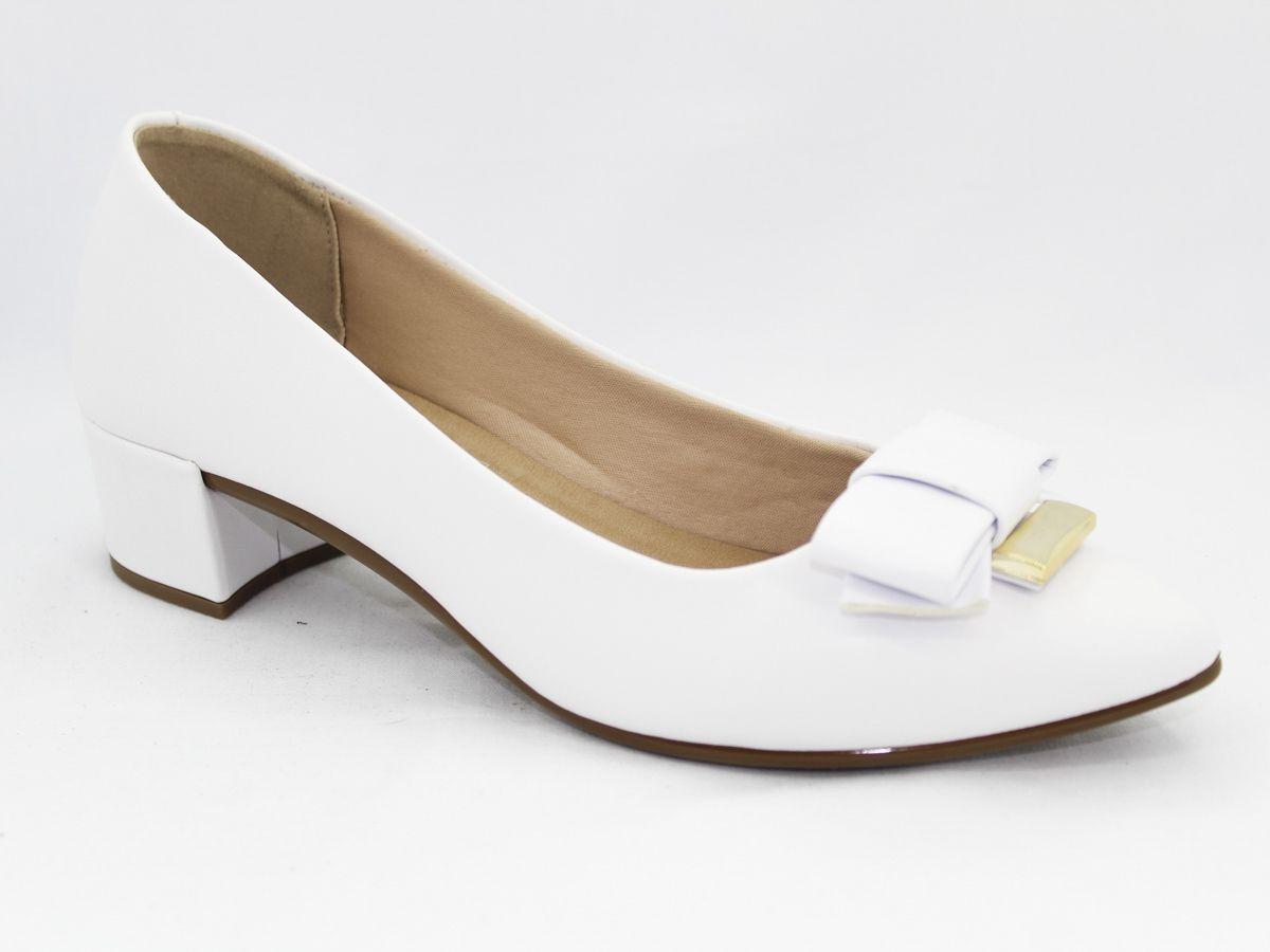 Sapato Feminino Delicado Beira Rio Salto Baixo