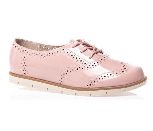 296cdd35c Sapato Feminino Moleca Oxford Casual Confortavel Original