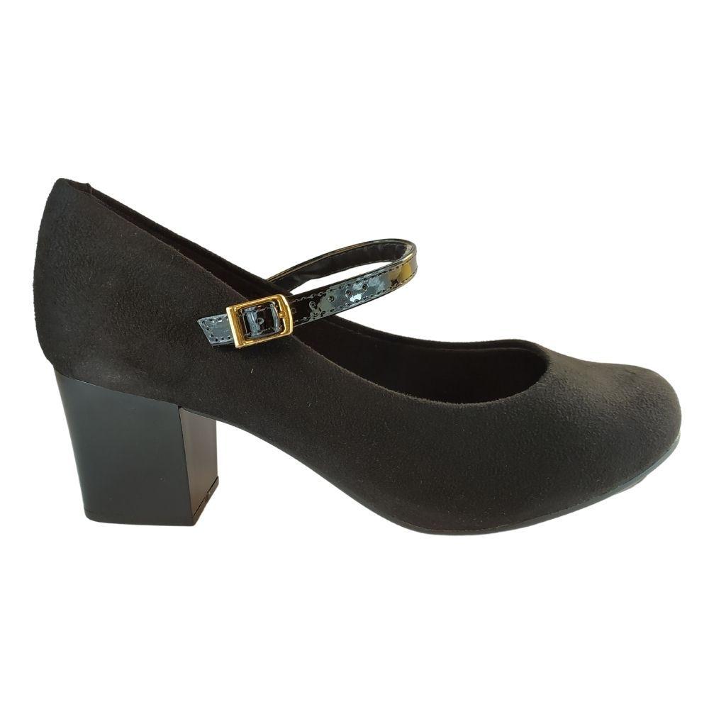 Sapato Feminino Salto Alto Moleca