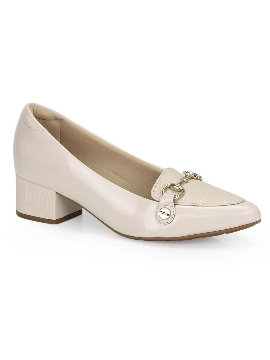 Sapato Feminino Scarpin Boneca Delicado Bico Fino Modare