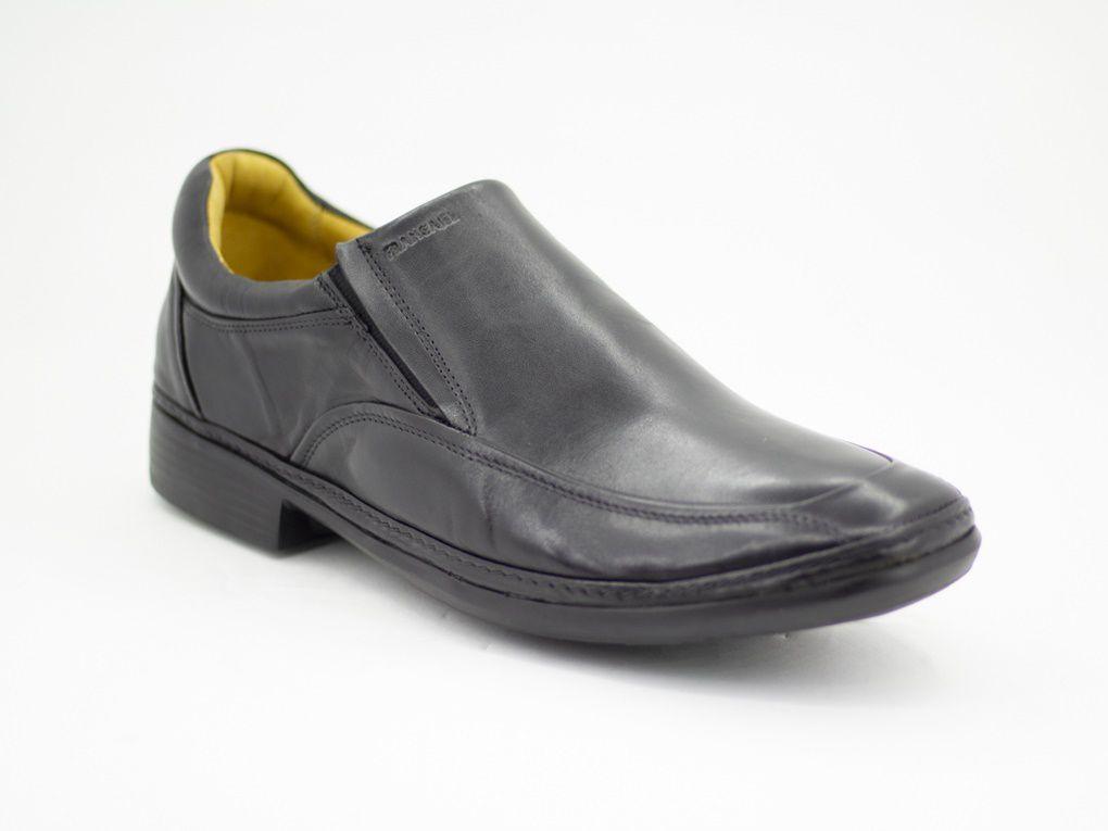 Sapato Masculino Social Couro Anti Stress Francajel
