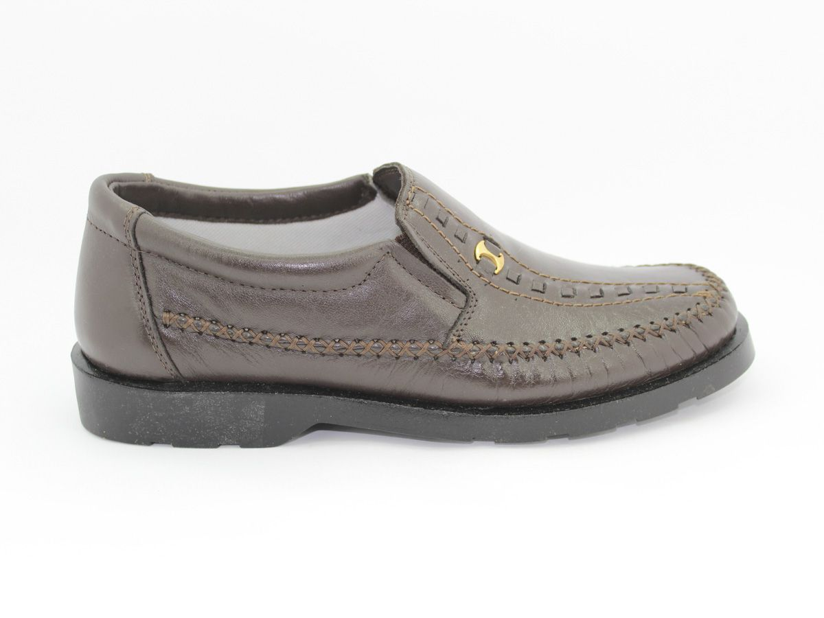 Sapato masculino couro moderno confortavel Vilela