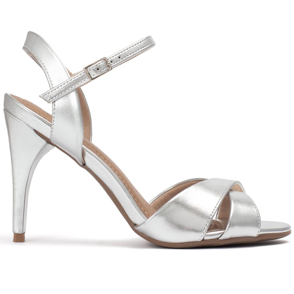 Sapato Scarpin Sandalia Feminina Salto Alto Fino Piccadilly