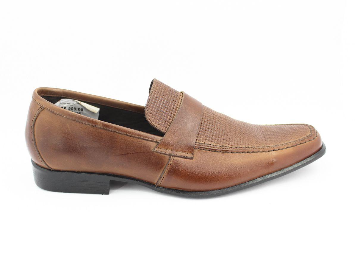 Sapato social masculino couro confortavel  Stefanello