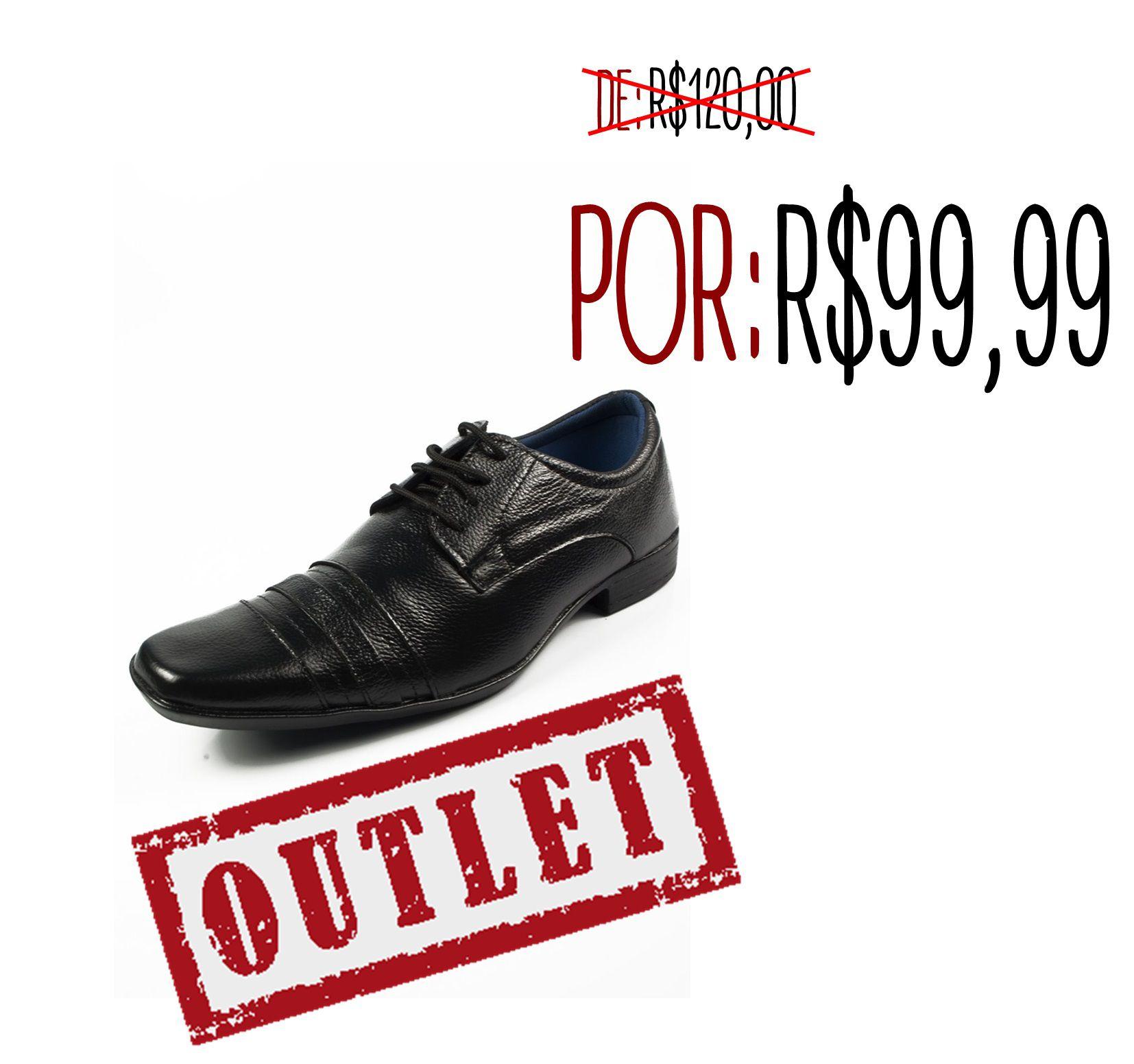 3eceba854 Sapato Social Tenero 407. Elegante Masculino Preto