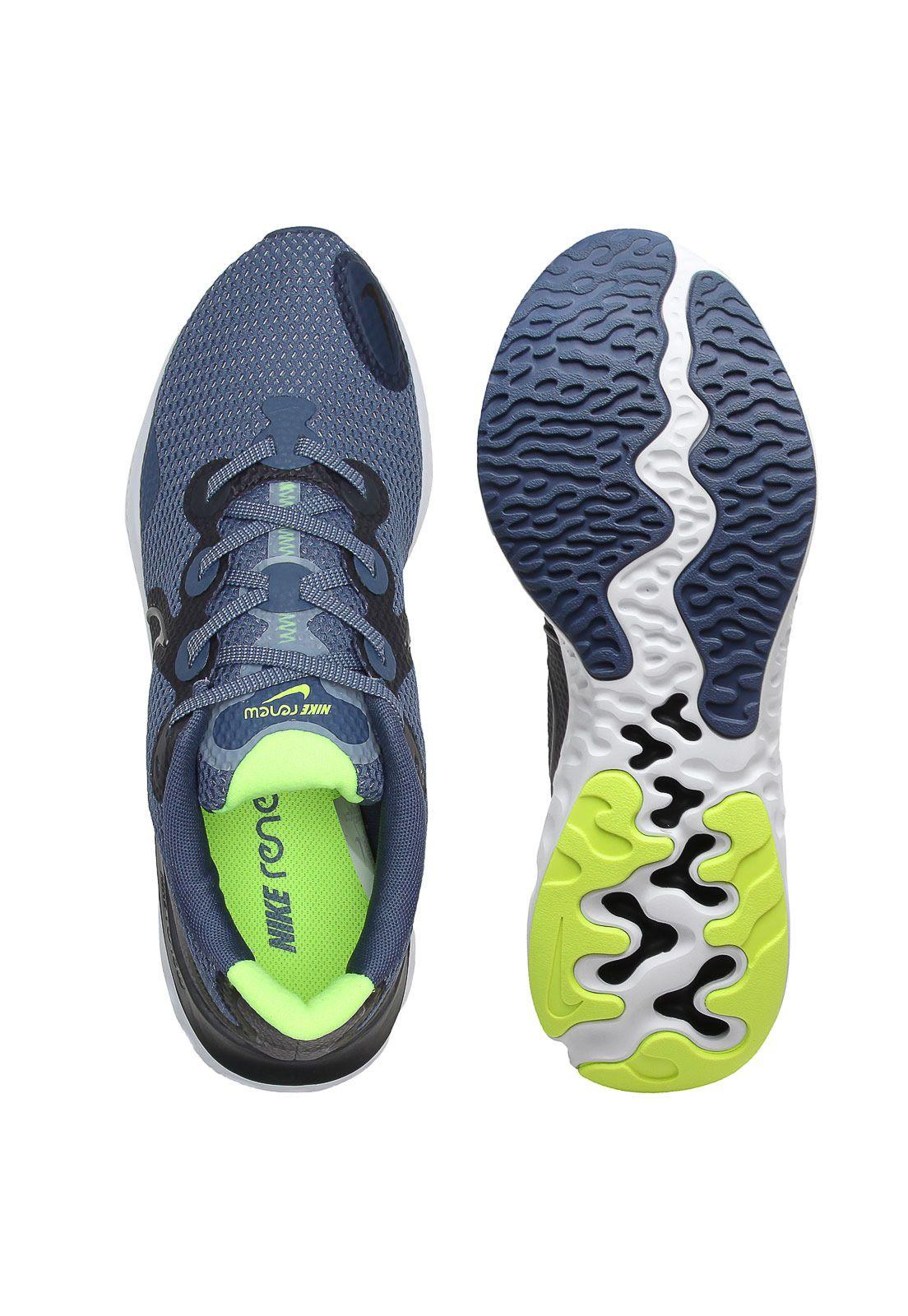 Tenis Caminhada Masculino Nike Renew Run