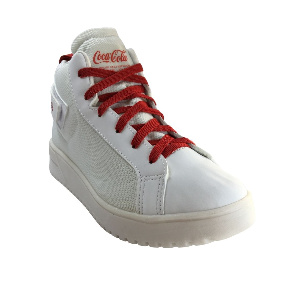 Tenis Feminino Coca Cola Sneaker Casual Botinha