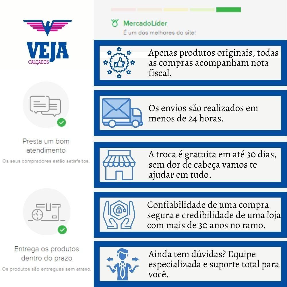 Tenis Casual Feminino Beira Rio Confortavel Baixo