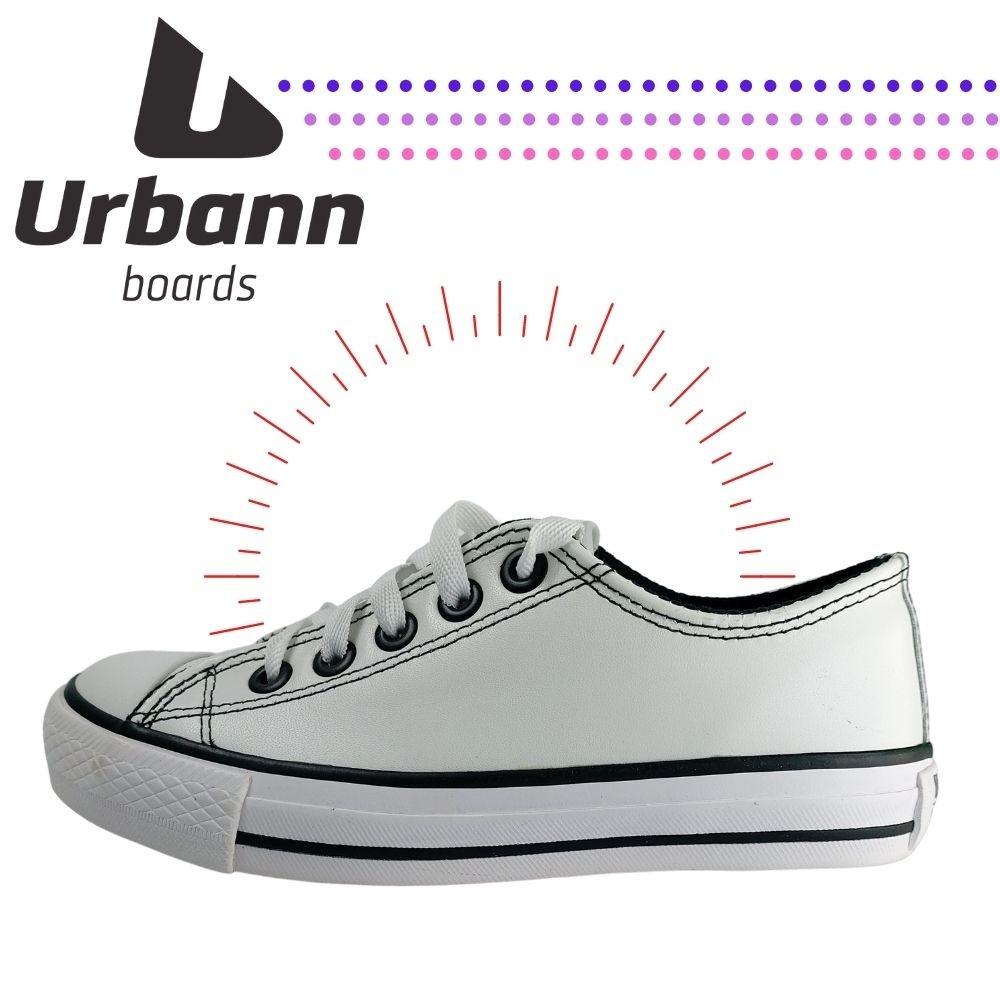 Tenis Casual Stret Urban Shoes Star Branco Unissex