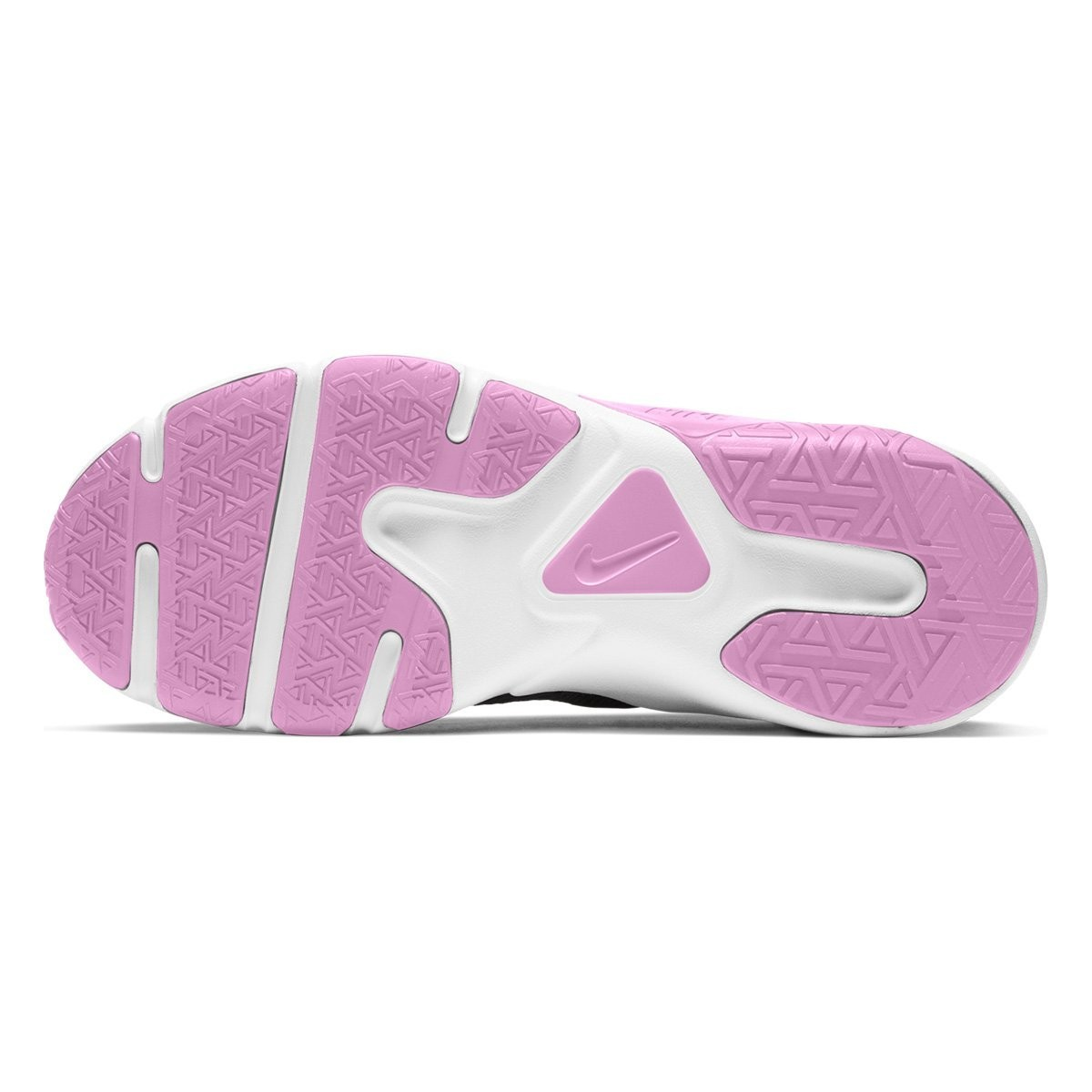 Tenis Esportivo Feminino Nike Legend Essential Preto/Rosa