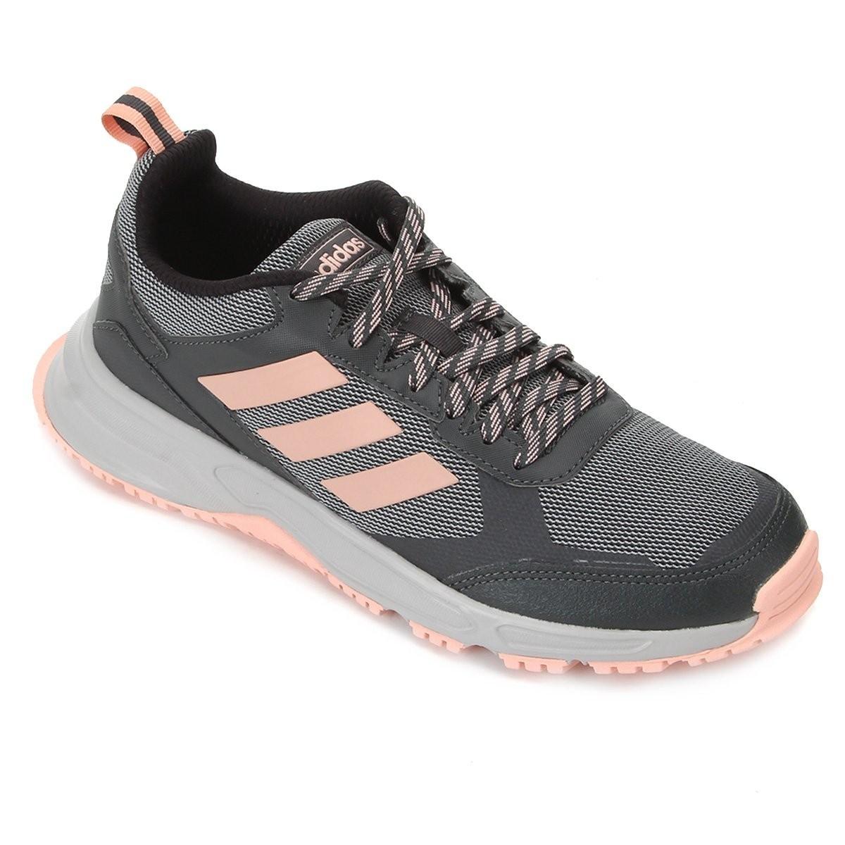Tenis Feminino Adidas Rockadia Trail Esportivo Corrida