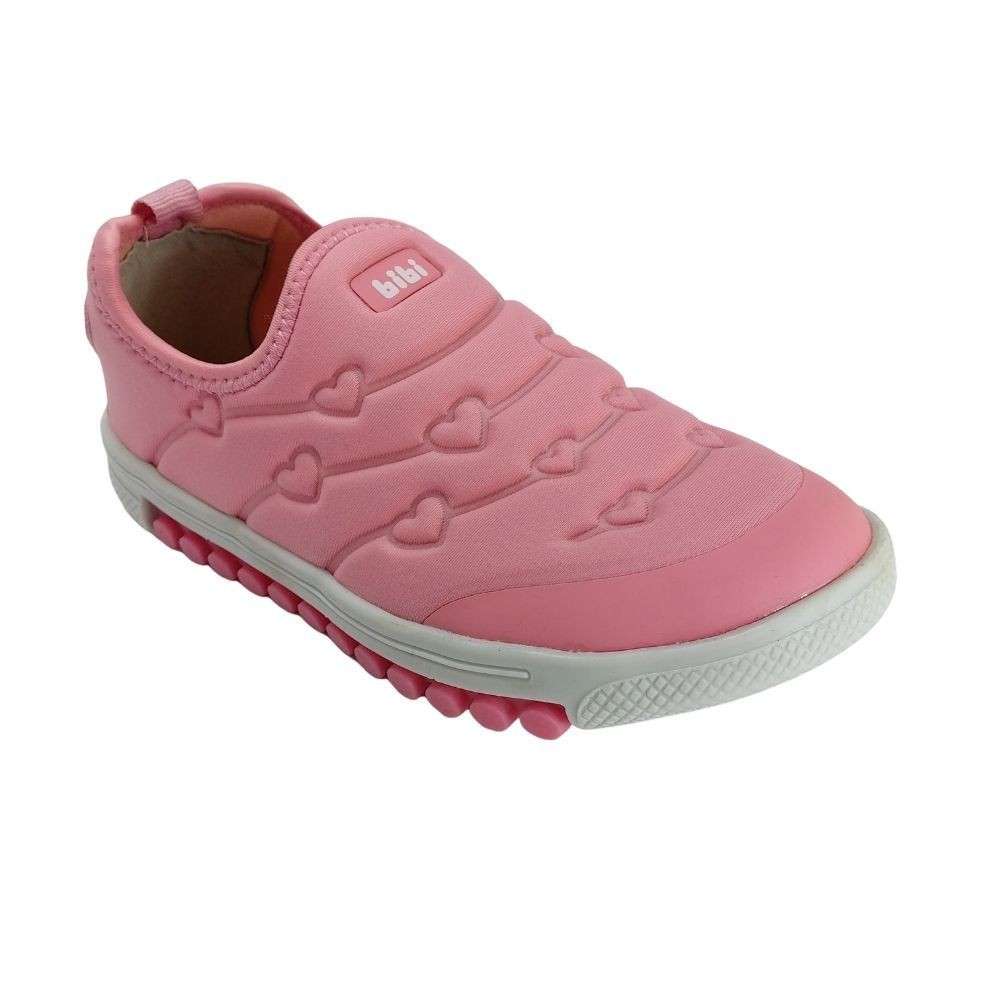 Tênis Feminino Infantil Bibi Roller New Menina Conforto Rosa