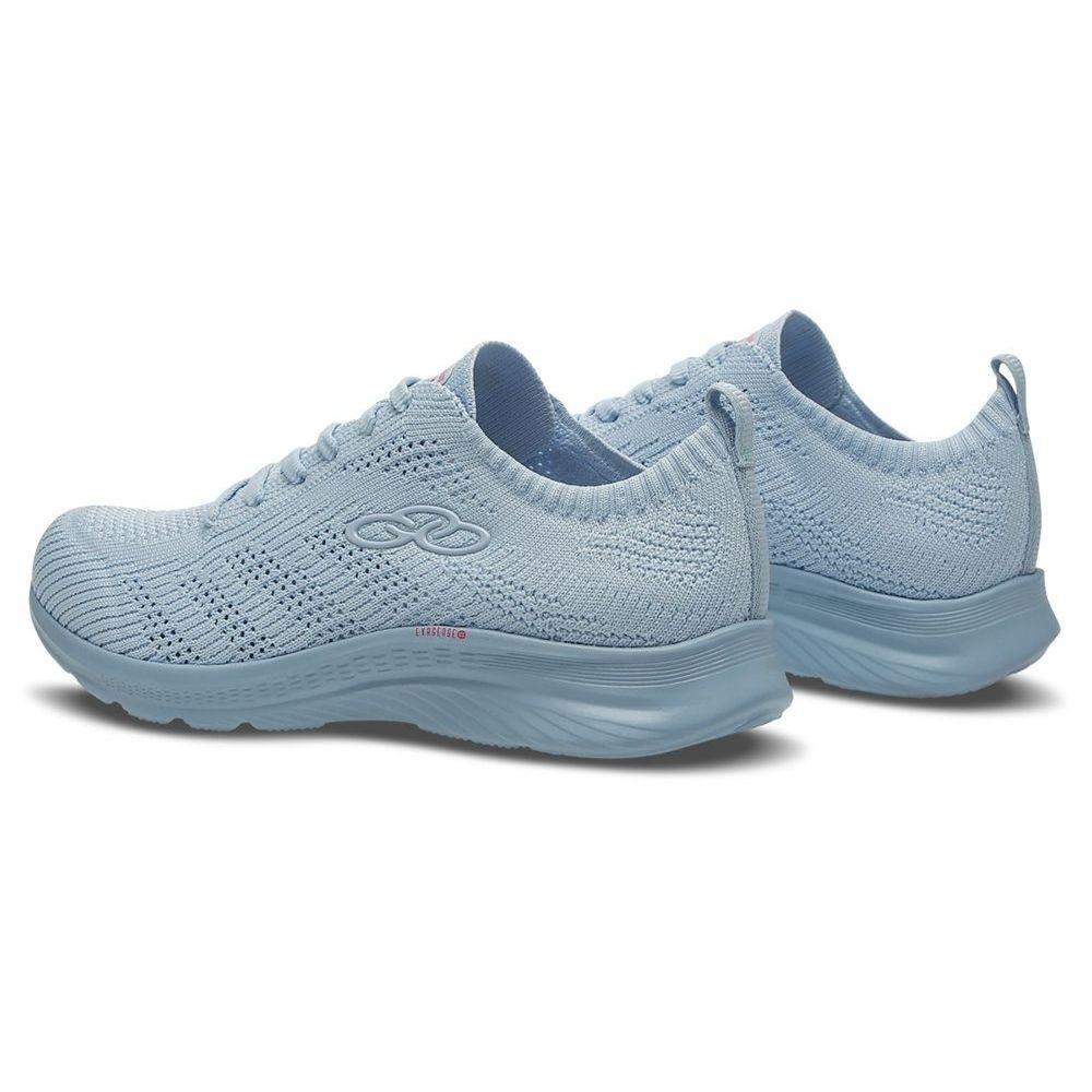Tenis Feminino Olympikus Ultraleve Esportivo Caminhada Azul
