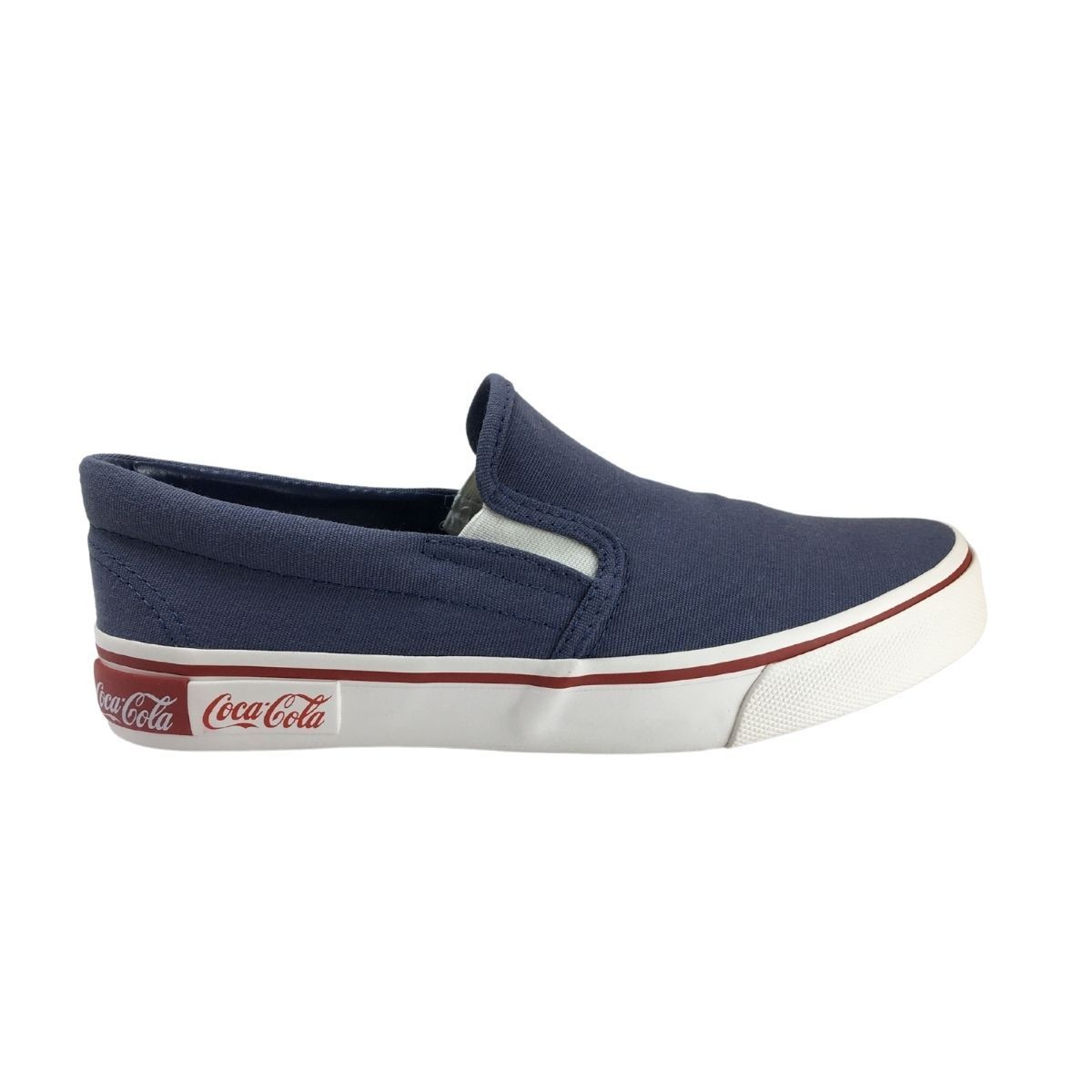 Tenis Iate Coca-Cola Feminino Blend Slip On Casual