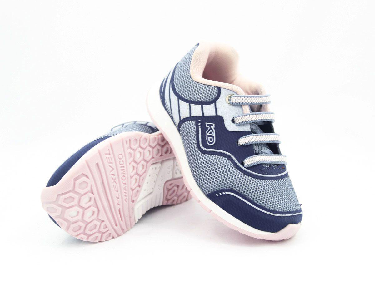 Tenis infantil feminino confortavel anatomico Kidy