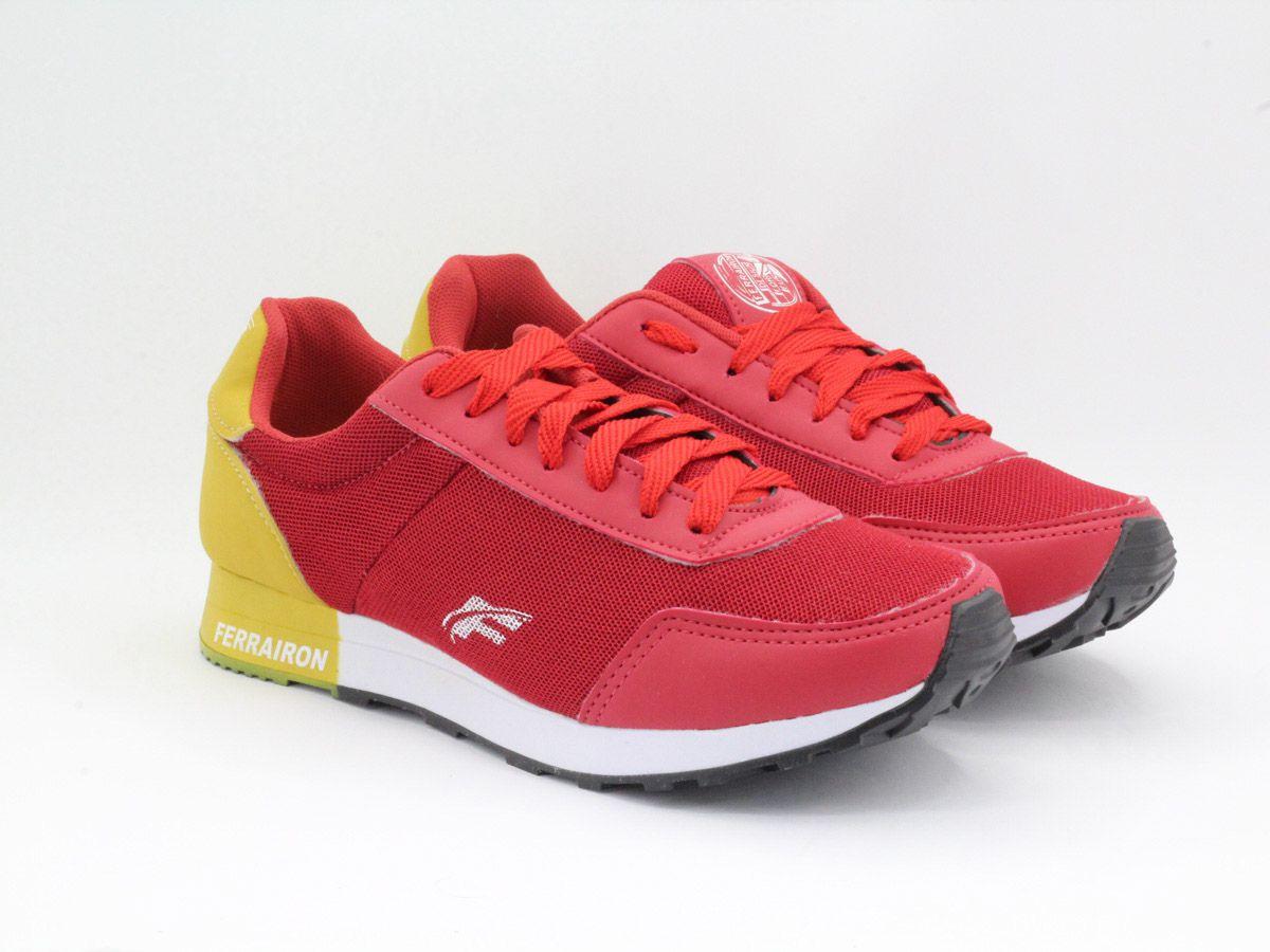Tenis Esportivo Caminhada Corrida Ferrarion