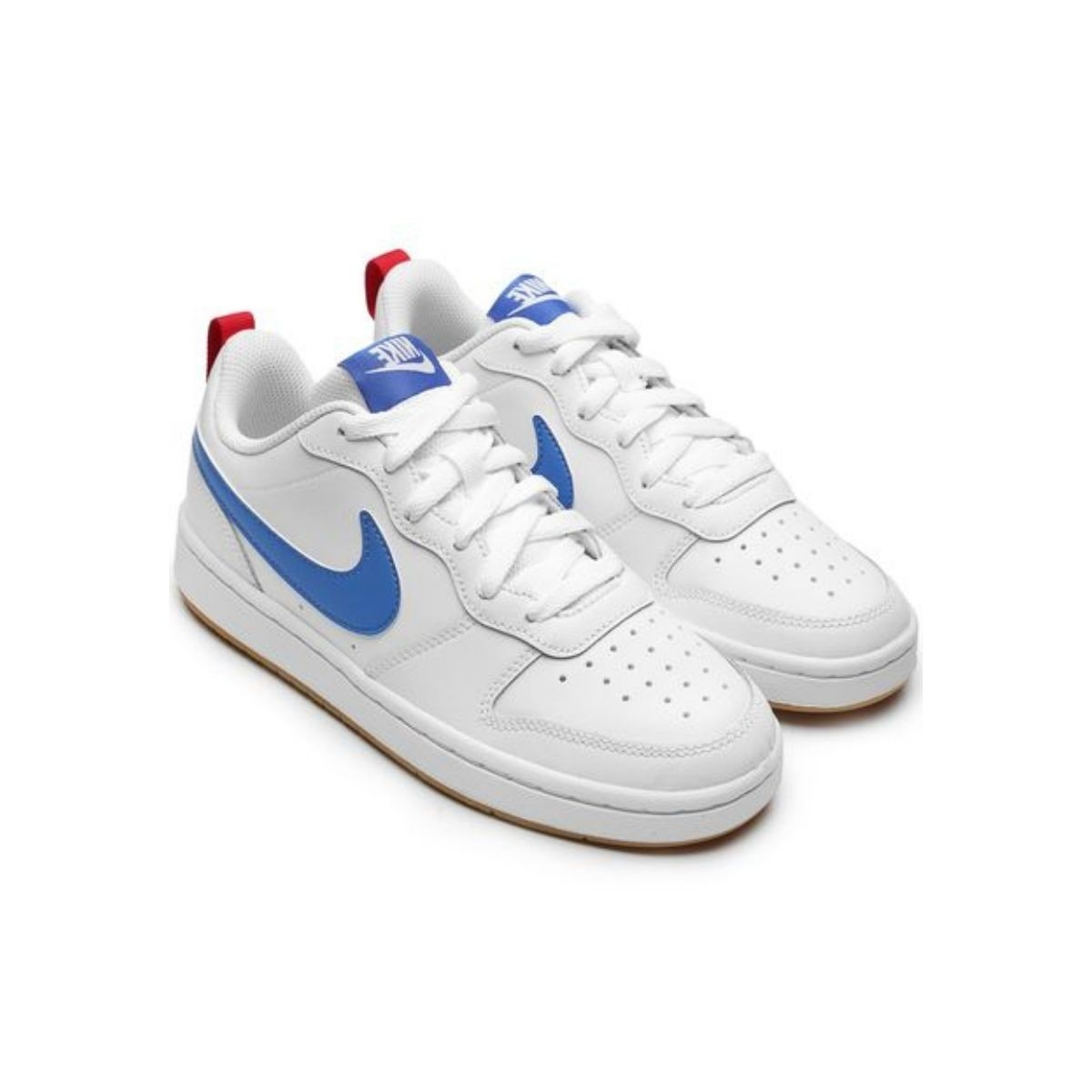 Tenis Masculino Juvenil Nike Court Borough Low Branco