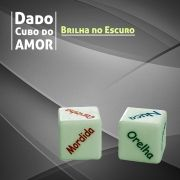 Dado Cubo do Amor Light com 2 Brilha No Escuro