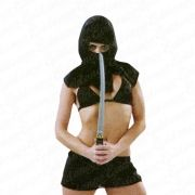 Fantasia Feminina Ninja Obsessão