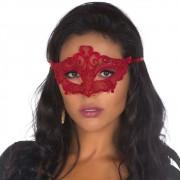 Máscara Sensual Vermelha