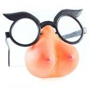 Óculos com nariz no formato de seios