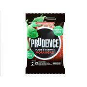 Preservativo Prudence Morangão XXG com 3 Unidades
