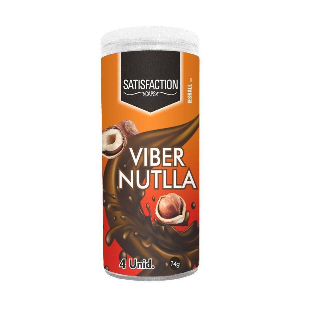 Cápsula Beijável Hot Viber Nutlla - 04 unidades