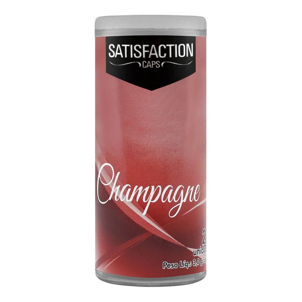 Cápsula do Prazer Aromática Morango com Champagne