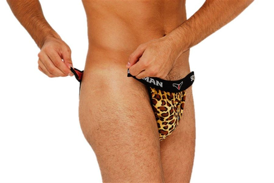 Cueca Leopardo Striper