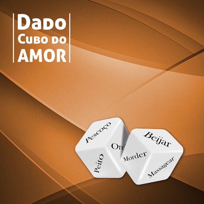 Dado Cubo do Amor com 2