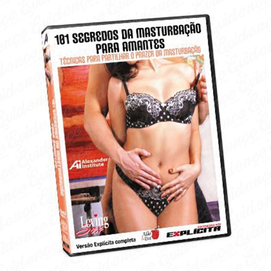 Dvd 101 Segredos Da Masturbação para Amantes