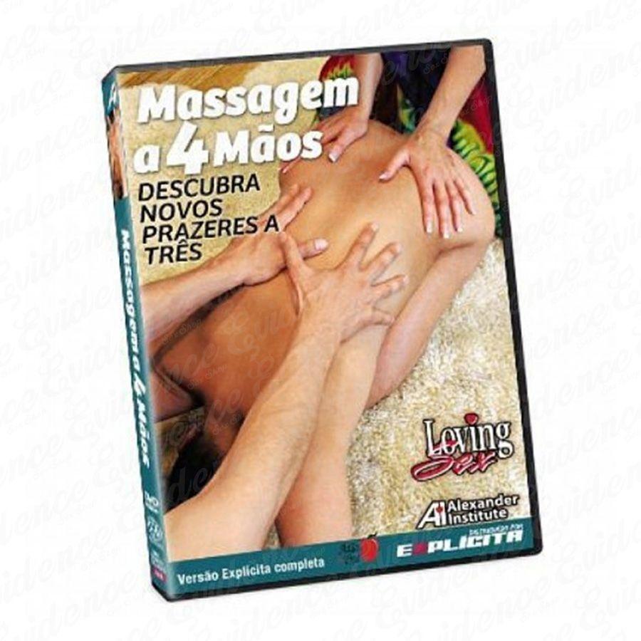 Dvd Massagem à 4 Mãos