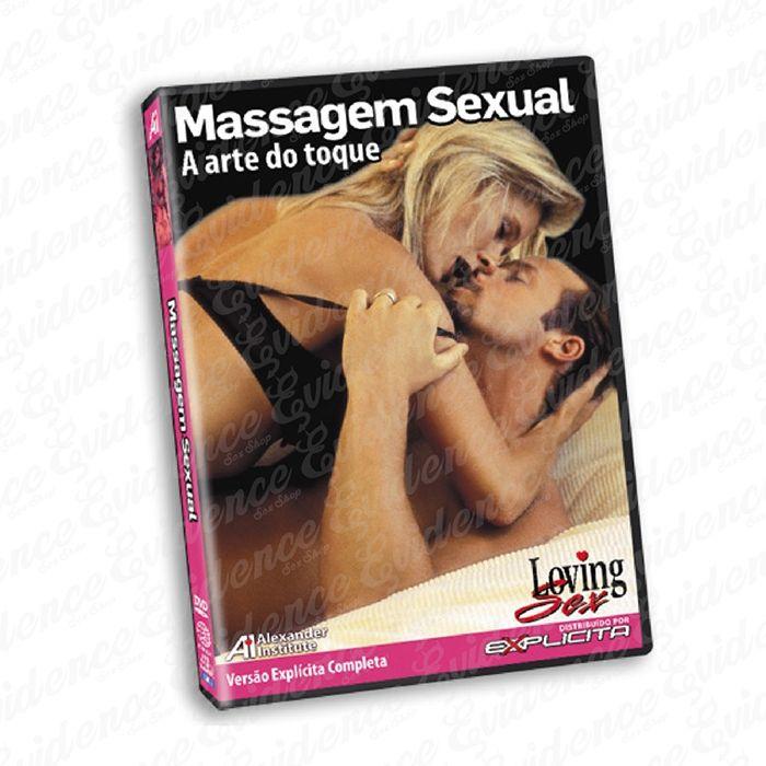 Dvd Massagem Sexual - A arte do toque