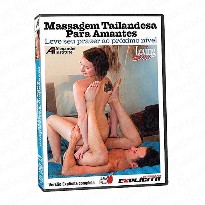 Dvd Massagem Tailandesa para Amantes