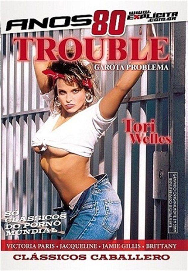 DVD Trouble Garota Problema Coleção Anos 80