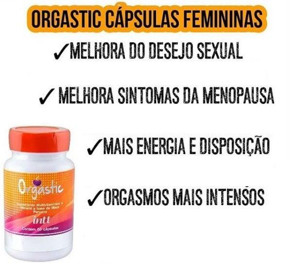 Excitante Feminino Orgastic Cápsulas