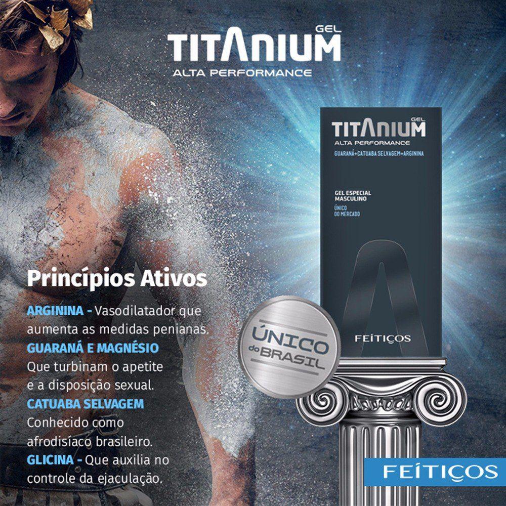 Excitante Masculino Titanium