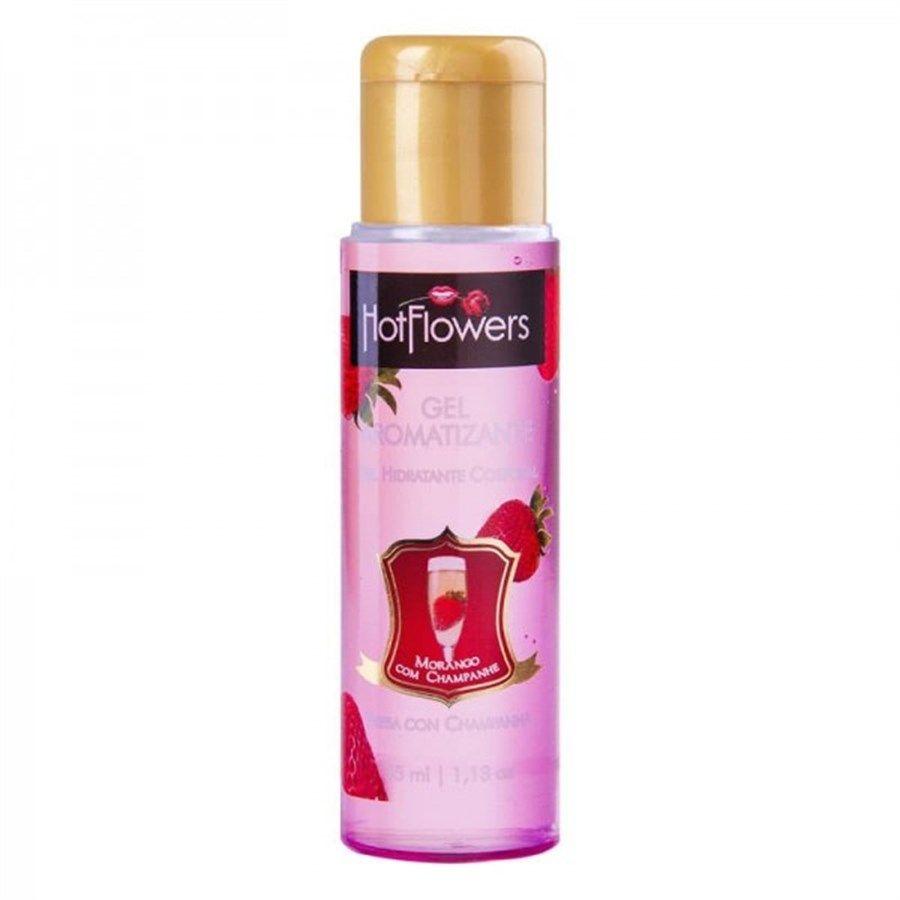 Gel comestível Hot Flowers - Sabores