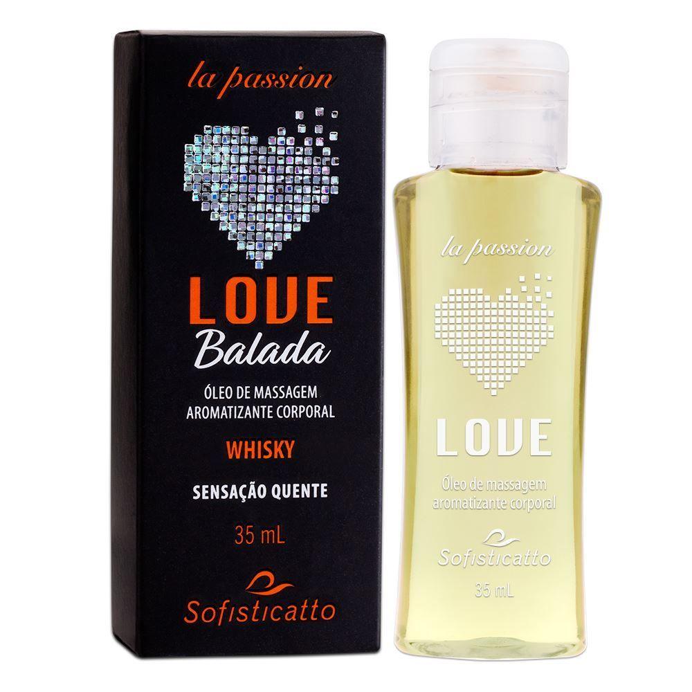 Gel Sexo Oral Love Balada Sabor Whisky Quente