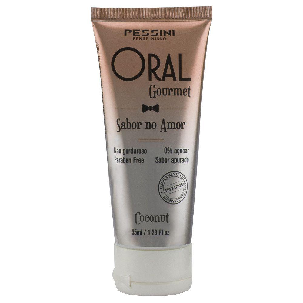 Gel Sexo Oral Quente Oral Gourmet Coconut