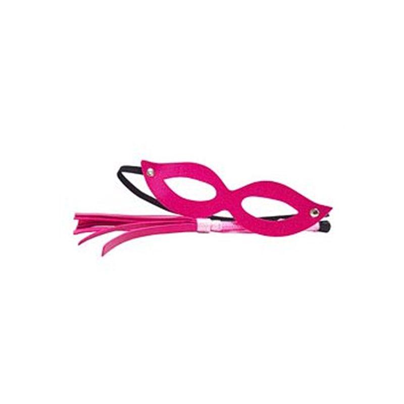 Kit Dominadora - Máscara e Chicote