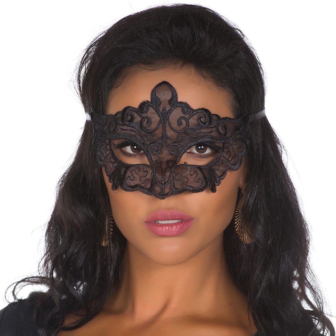 Máscara Sensual Preta