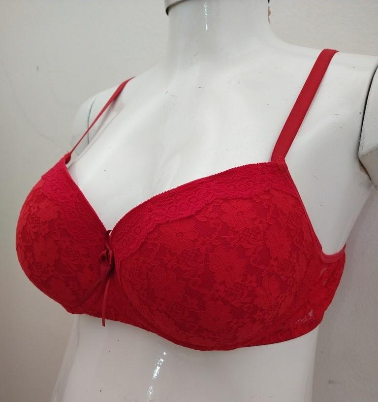 Sutiã Plus Size Tamanho 52 Vermelho