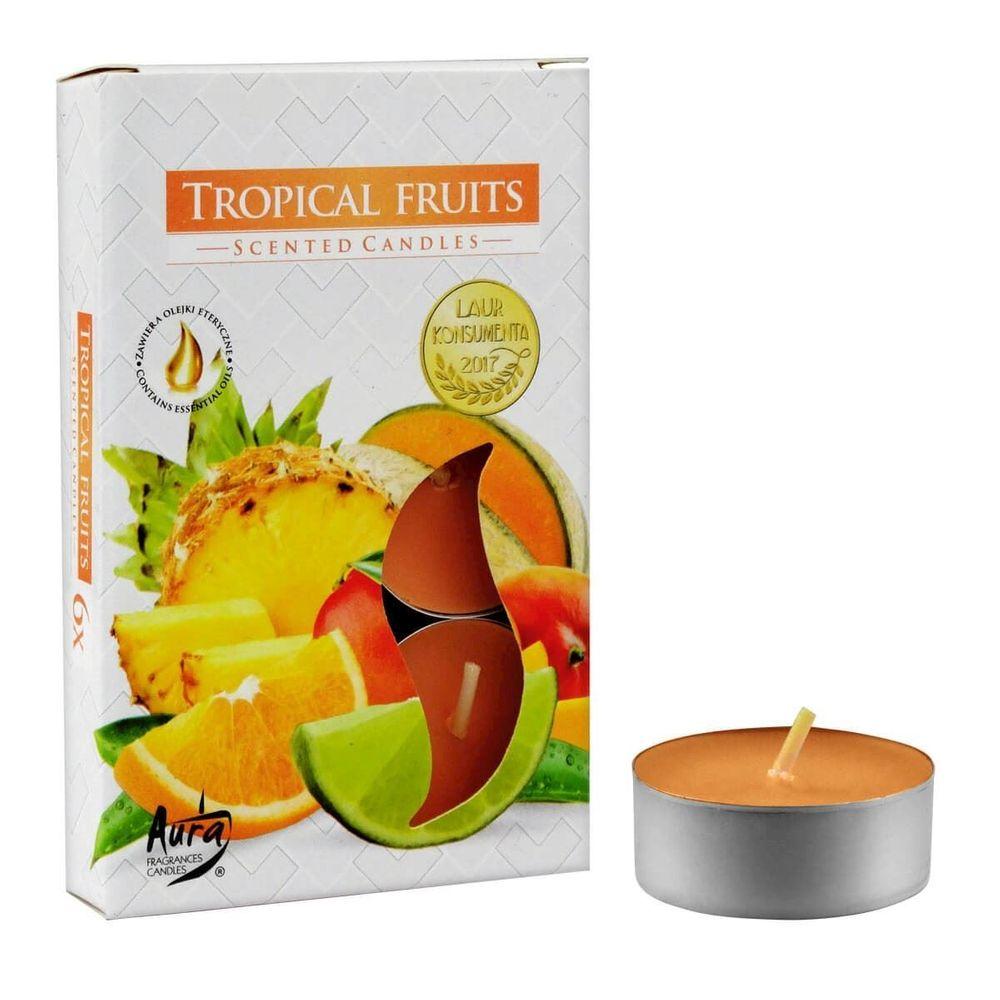 Vela Aroma Frutas Tropicais