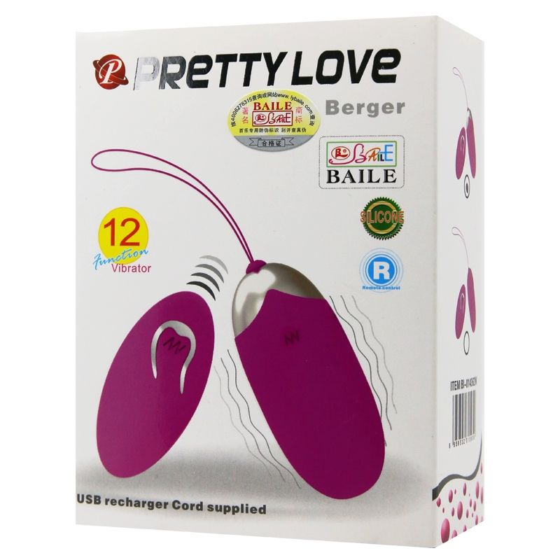 Vibrador Bullet Pretty Love Berger