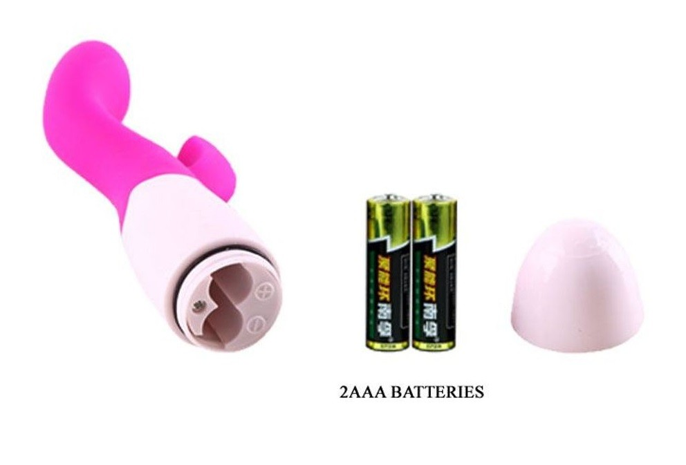 Vibrador Ponto G Brighty Pretty Love Pink 30 Velocidades
